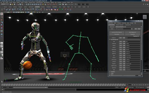 Screenshot Autodesk Maya für Windows XP