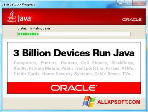 Screenshot Java Runtime Environment für Windows XP