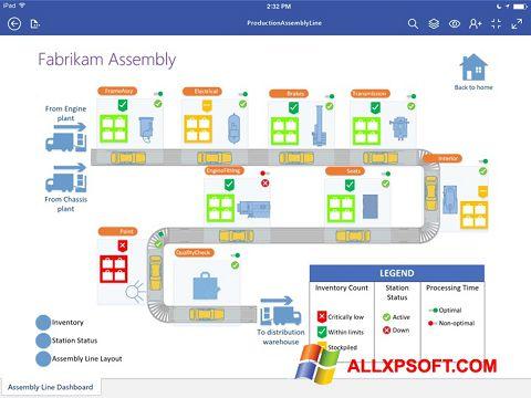 Screenshot Microsoft Visio Viewer für Windows XP