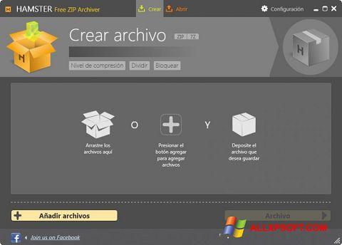 Screenshot Hamster Free ZIP Archiver für Windows XP