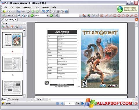 Screenshot PDF-XChange Viewer für Windows XP