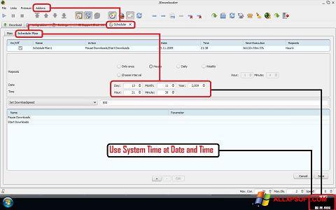 Screenshot JDownloader für Windows XP