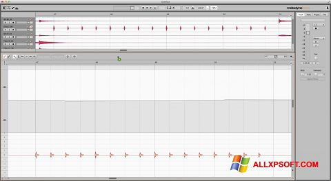 Screenshot Melodyne für Windows XP