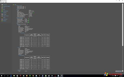Screenshot Speccy für Windows XP