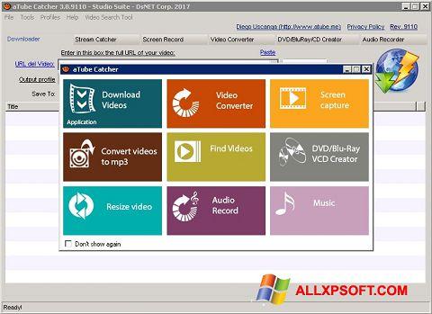 Screenshot aTube Catcher für Windows XP