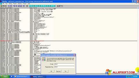 Screenshot PDF2Word für Windows XP