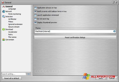 Screenshot VSO Downloader für Windows XP