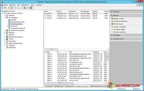 Screenshot Traffic Inspector für Windows XP