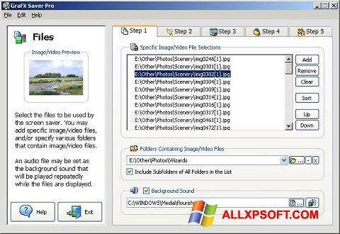 Screenshot VideoSaver für Windows XP