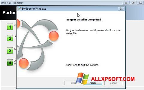 Screenshot Bonjour für Windows XP