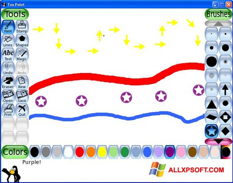 Screenshot Tux Paint für Windows XP