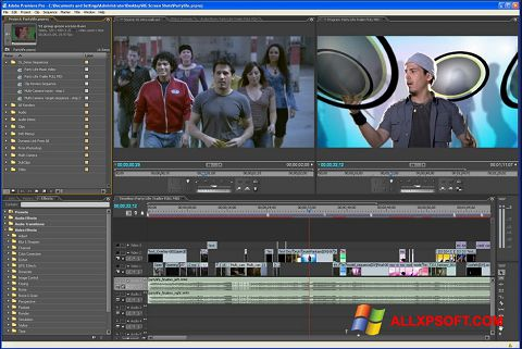 Screenshot Adobe Premiere Pro für Windows XP