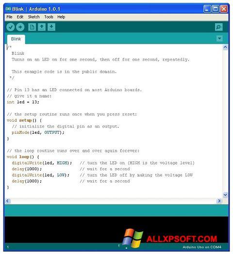 Screenshot Arduino für Windows XP