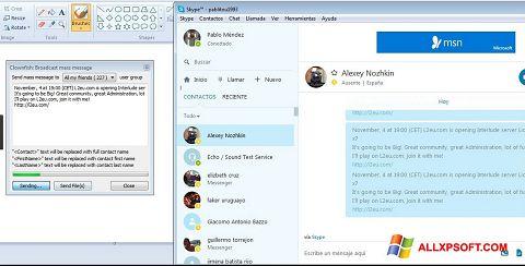 Screenshot Clownfish für Windows XP