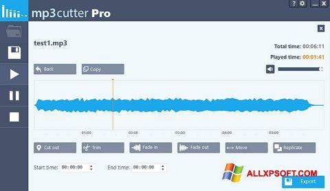 Screenshot MP3 Cutter für Windows XP