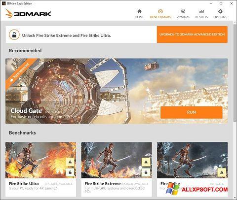 Screenshot 3DMark für Windows XP