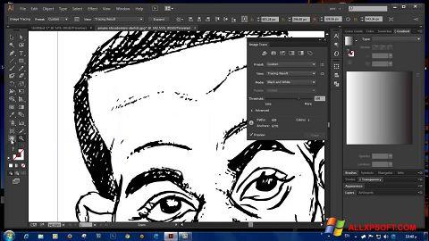 Screenshot Adobe Illustrator CC für Windows XP