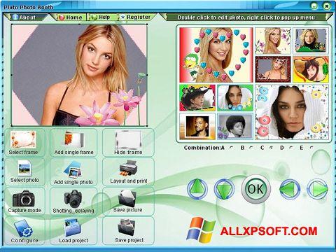 Screenshot Photo Booth für Windows XP