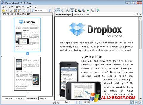 Screenshot STDU Viewer für Windows XP