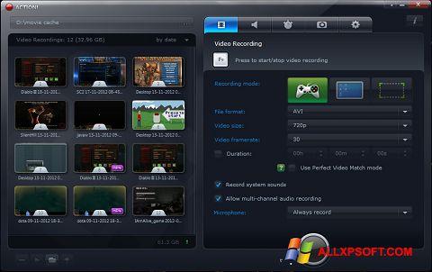 Screenshot Action! für Windows XP