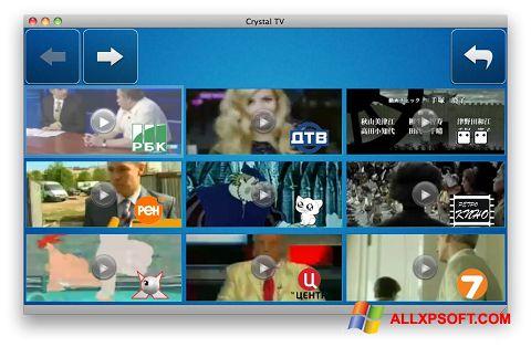 Screenshot Crystal TV für Windows XP