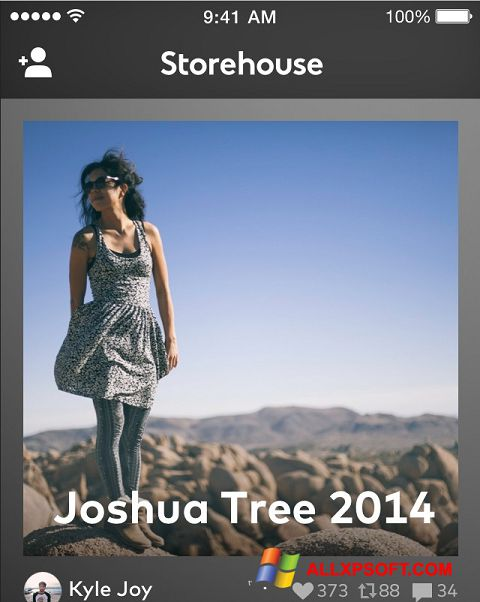 Screenshot StoreHouse für Windows XP