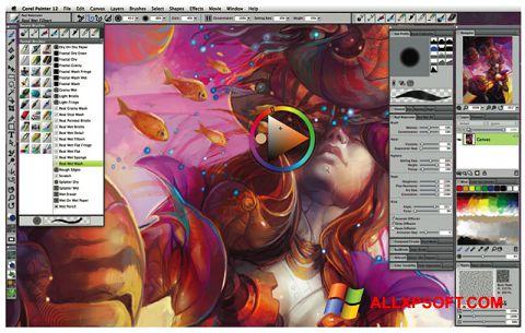 Screenshot Corel Painter für Windows XP