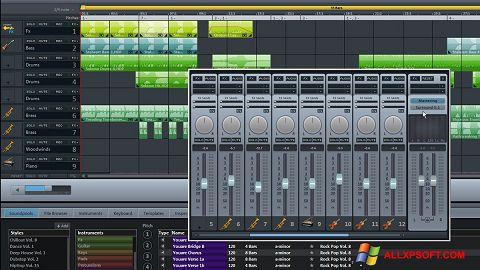 Screenshot MAGIX Music Maker für Windows XP