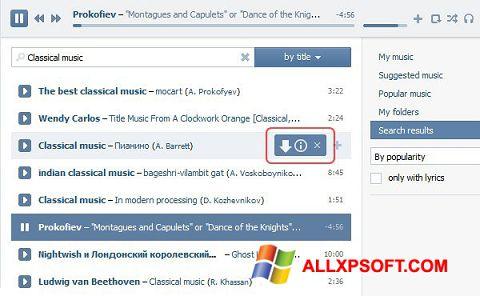 Screenshot SaveFrom.net für Windows XP