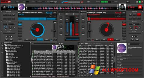 Screenshot Virtual DJ für Windows XP