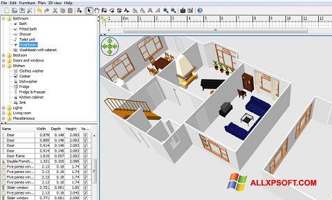 Screenshot FloorPlan 3D für Windows XP