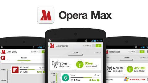Screenshot Opera Max für Windows XP