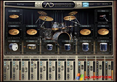 Screenshot Addictive Drums für Windows XP
