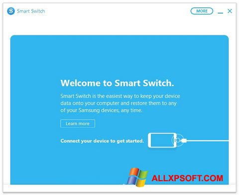 Screenshot Samsung Smart Switch für Windows XP