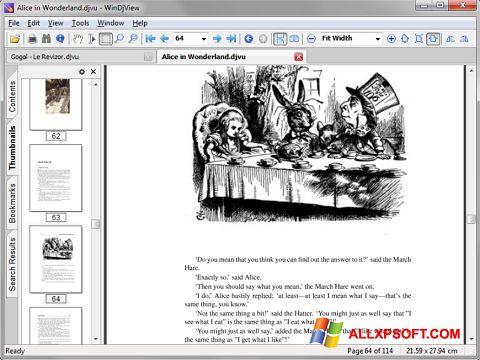 Screenshot DjView für Windows XP