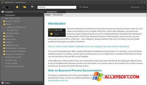 Screenshot Adobe AIR für Windows XP