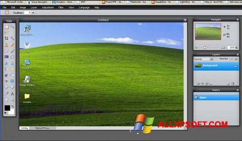 Screenshot LightShot für Windows XP