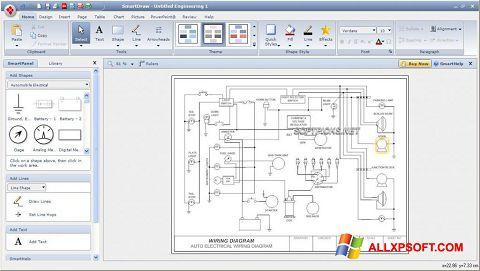 Screenshot SmartDraw für Windows XP