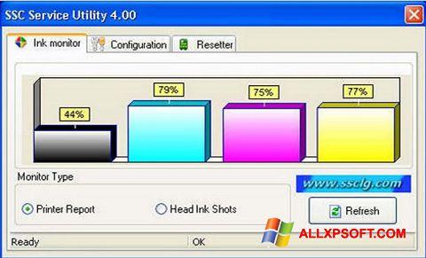 Screenshot SSC Service Utility für Windows XP