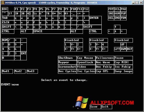 Screenshot DOSBox für Windows XP