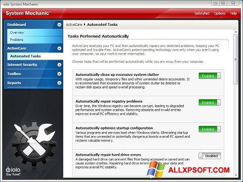 Screenshot System Mechanic für Windows XP