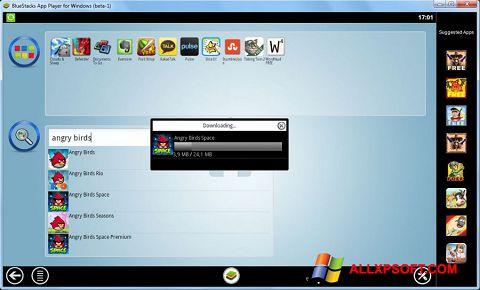 Screenshot BlueStacks für Windows XP