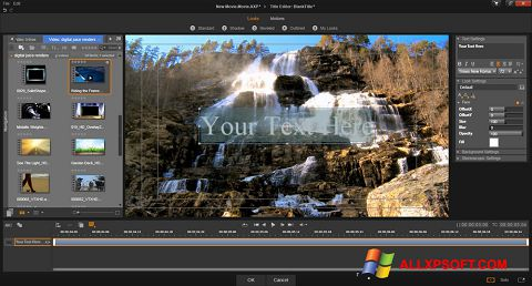 Screenshot Pinnacle Studio für Windows XP