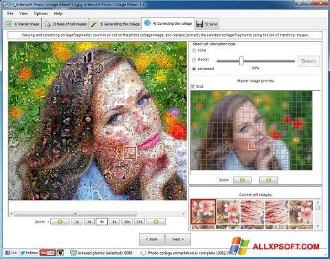 Screenshot Photo Collage für Windows XP
