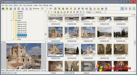 Screenshot FastStone Image Viewer für Windows XP