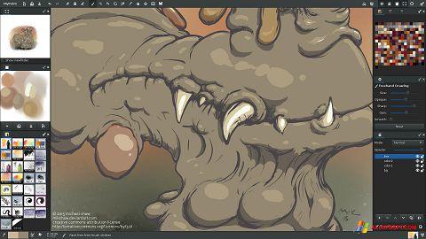 Screenshot MyPaint für Windows XP
