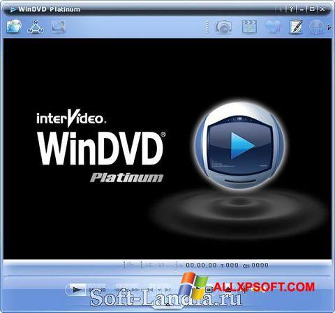Screenshot WinDVD für Windows XP