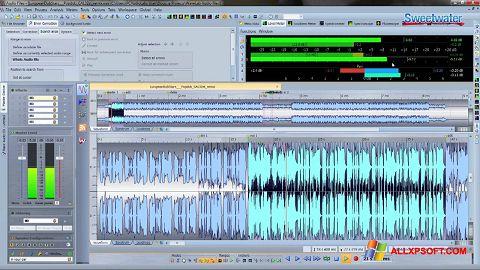 Screenshot WaveLab für Windows XP