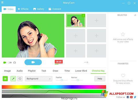 Screenshot ManyCam für Windows XP