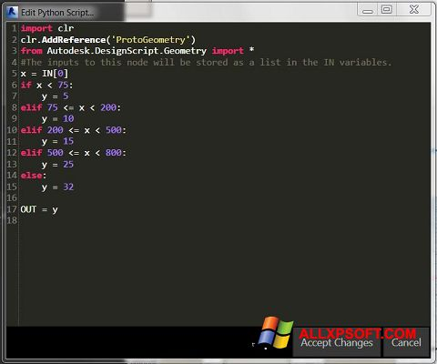 Screenshot Python für Windows XP